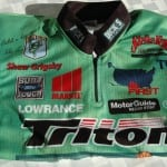 ANGLING LEGEND SHAW GRIGSBY AUTOGRAPHED JERSEY PIC